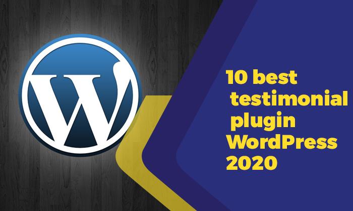 10 best testimonial plugin WordPress 2020