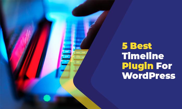 5 best time line plugin