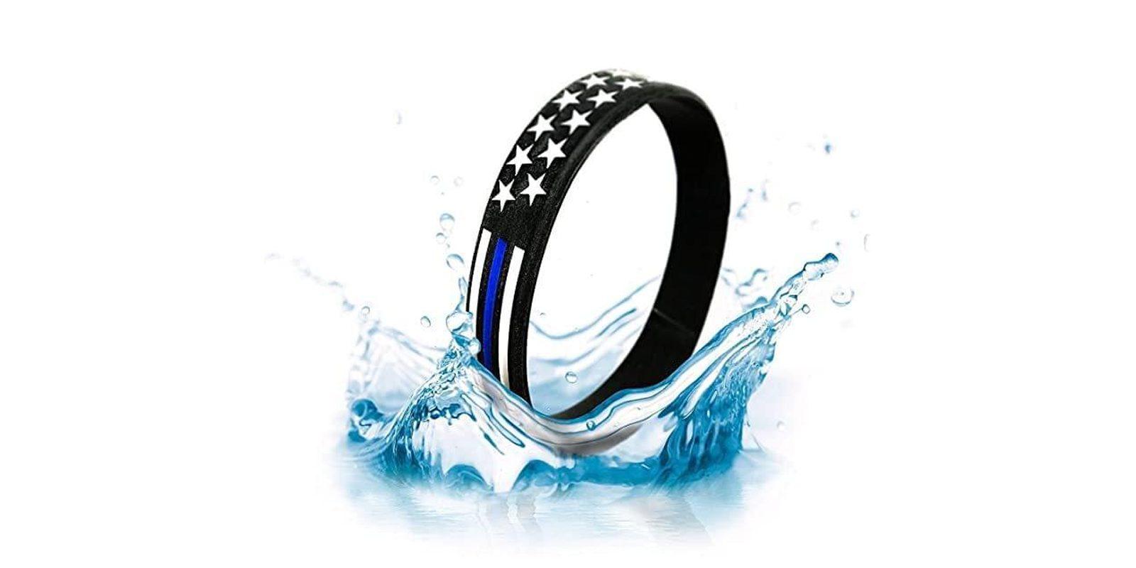 Blue line Wrist bracelet Reviews